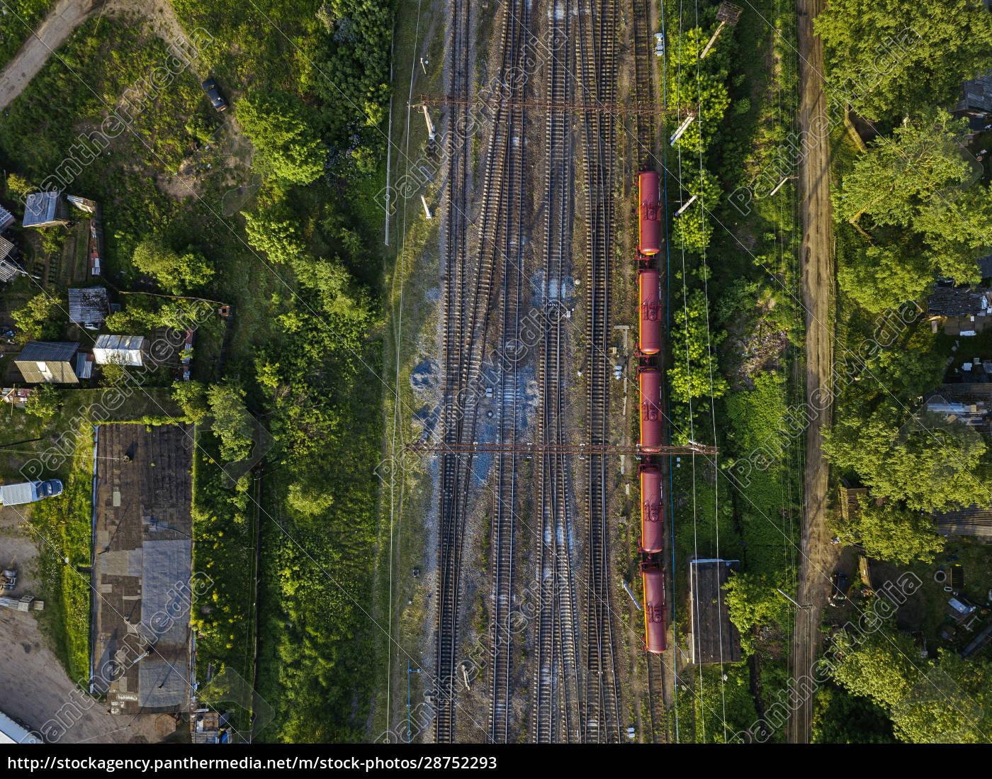 russia, , leningrad, oblast, , tikhvin, , aerial, view - 28752293