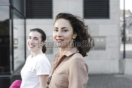 portrait, of, happy, multi-ethnic, businesswomen, outside - 28753848