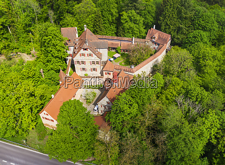 germany bavaria altdorf bei nurnberg drone
