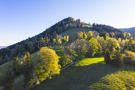 germany bavaria gaissach drone view of