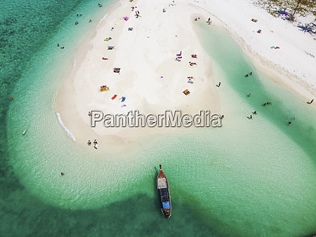 thailand satunprovince kolipe aerial view of