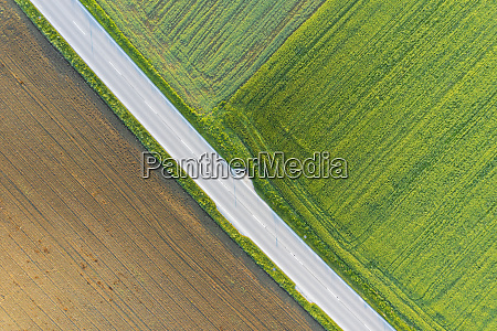 germany bavaria icking drone view of