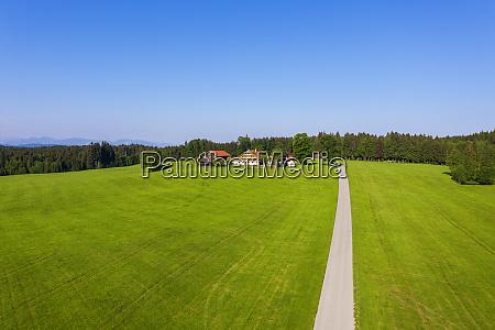 germany bavaria reit im winkl drone