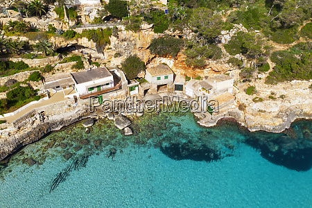 spain mallorca santanyi drone view of