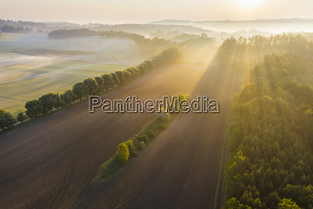 germany, , bavaria, , icking, , drone, view, of - 28761145