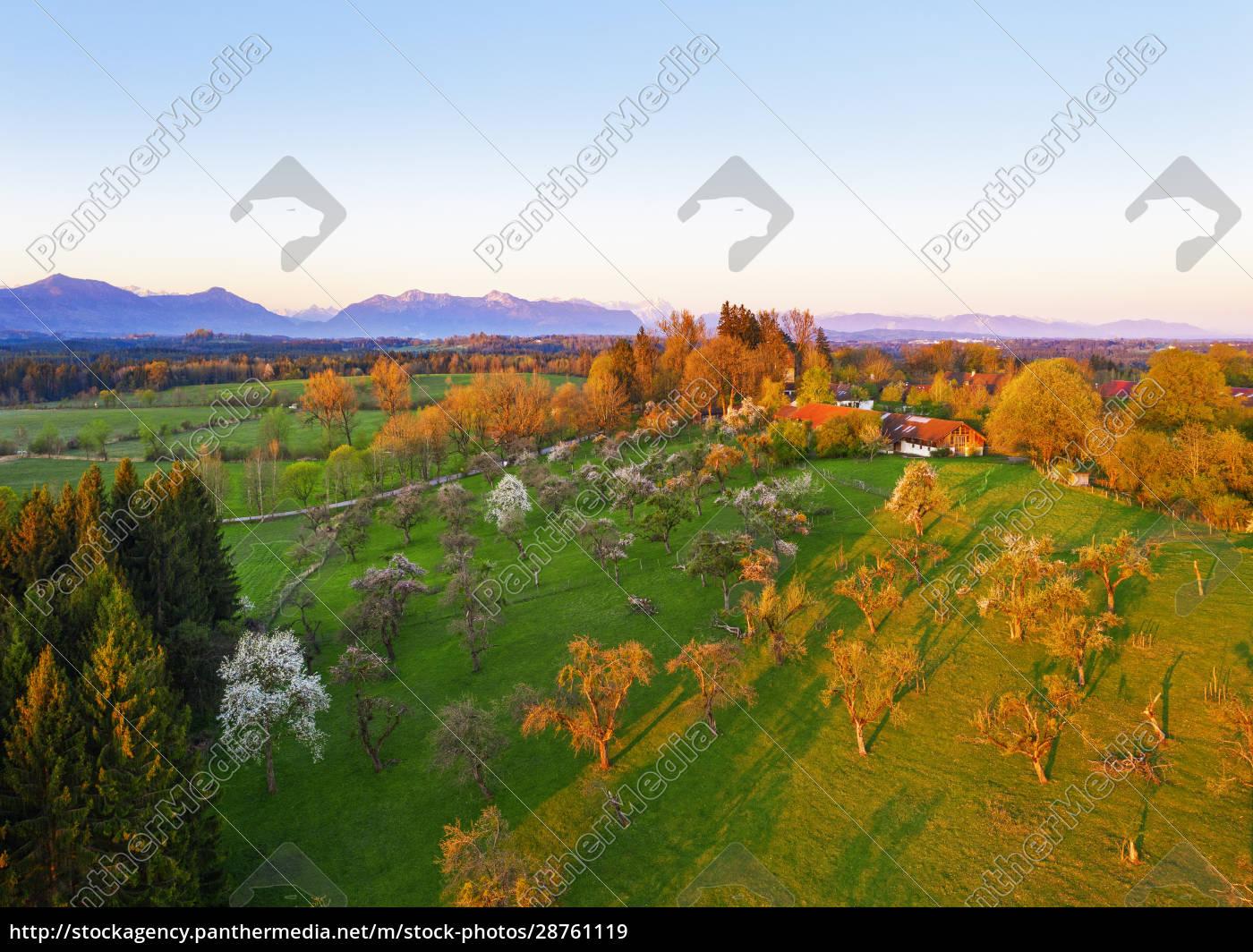 germany, , bavaria, , konigsdorf, , drone, view, of - 28761119