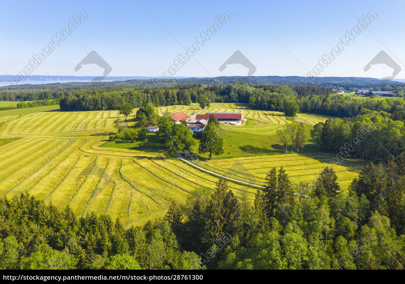 germany, , bavaria, , oed, , drone, view, of - 28761300