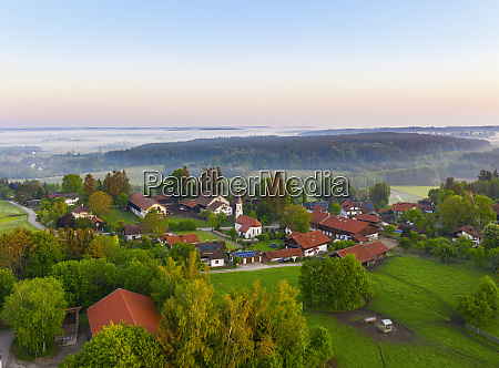 germany, , bavaria, , walchstadt, , drone, view, of - 28761139