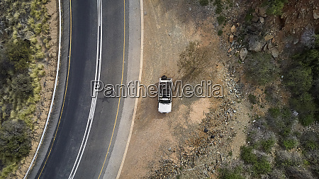 south africa swellendam area aerial view