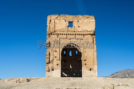 morocco fes meknes fes ruins of