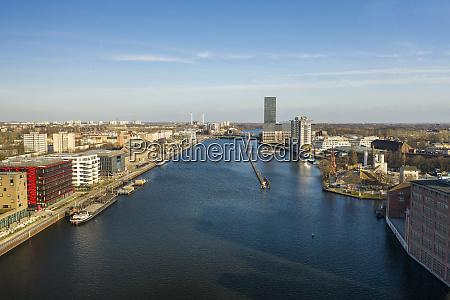 germany berlin aerial view ofspree river