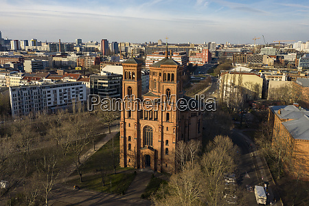 germany berlin aerial view ofsaint thomas