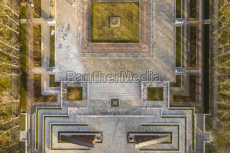 germany berlin aerial view of treptower