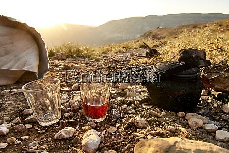 tea in the mountains jordan