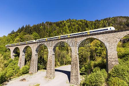 germany baden wurttemberg train crossingravenna bridge