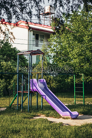 georgia imereti kutaisi slide on playground