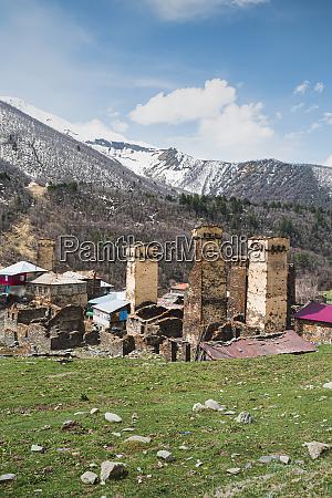 georgia svaneti ushguli towers of medieval
