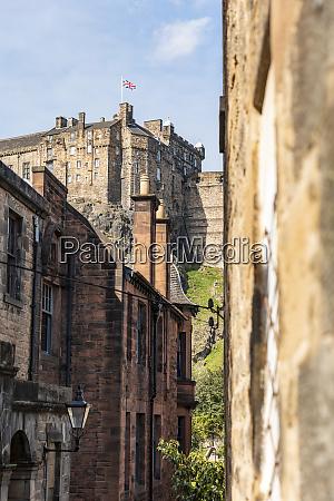 uk scotland edinburgh old town alley