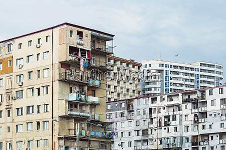 georgia adjara batumi old residential building
