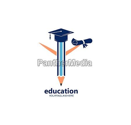 pencil vector illustration icon and logo