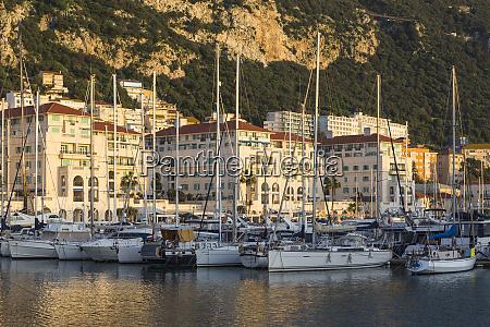 queensway quay marina gibraltar mediterranean europe