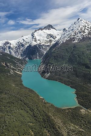 laguna san rafael national park aerial