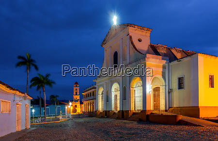 santisima trinidad cathedral plaza mayor trinidad