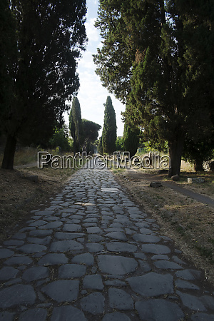 appian way anciently connecting rome to