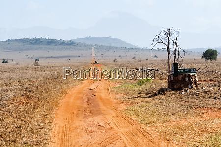 track in the savannah taita hills