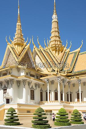 royal palace phnom penh cambodia indochina