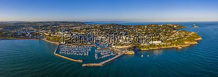 torquay town and marina torbay devon