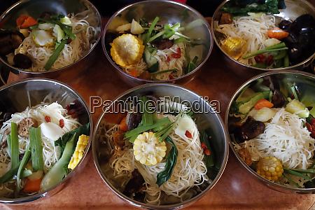 vegetarian meal tu an buddhist temple