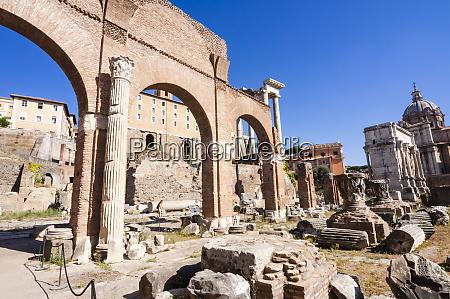 basilica julia roman forum unesco world