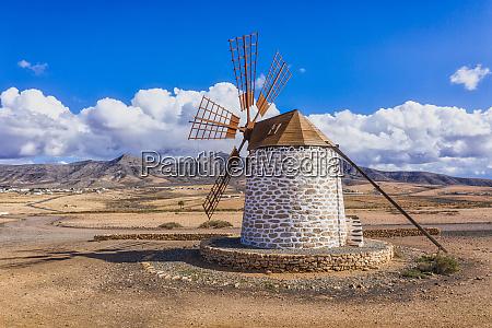 molino de tefia traditional windmill in