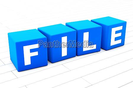 file word illustration