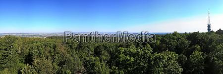 panorama vom schweinsbergturm is a sight