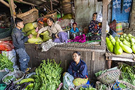 vegetable market myitkyina kachin state myanmar