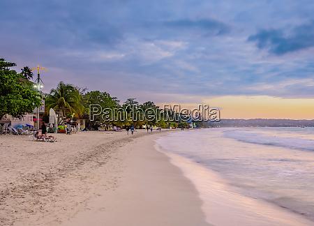 seven mile beach long bay negril