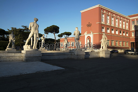 the red coni building the italian