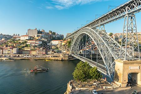 pleasure boat on the douro river