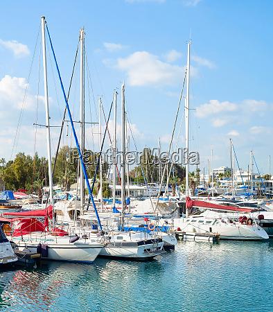larnaca marina motorboats yachts cyprus