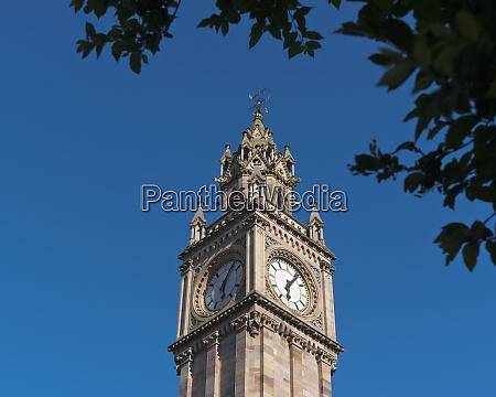albert memorial clock tower belfast ireland