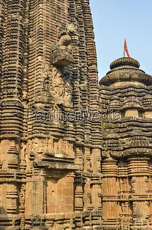 frieze detail chitrakarini temple lingaraja temple