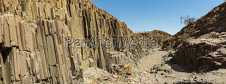 organ pipes iron rich lava formations