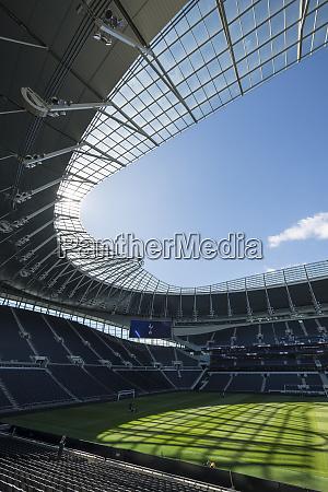tottenham hotspur football stadium empty stands