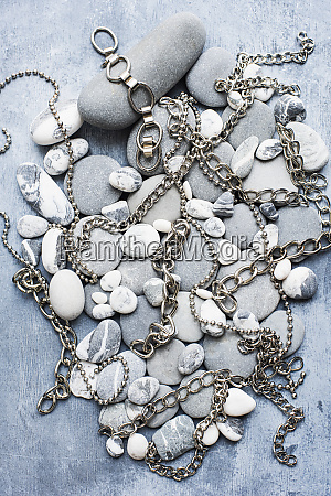 grey and white pebbles on a