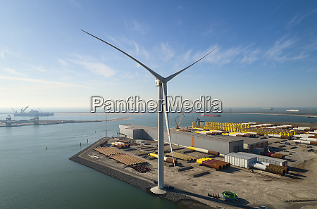view of the larges wind turbine