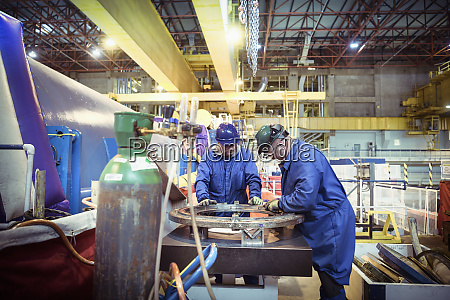 engineers working in a nuclear