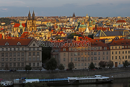 view of prague prague czech republic