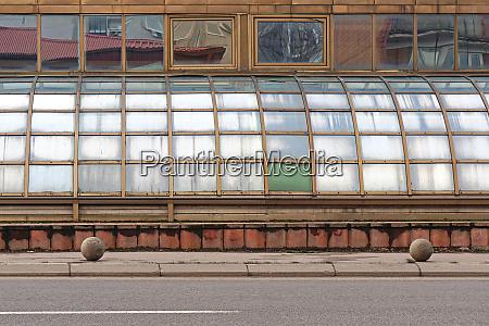 curved windows
